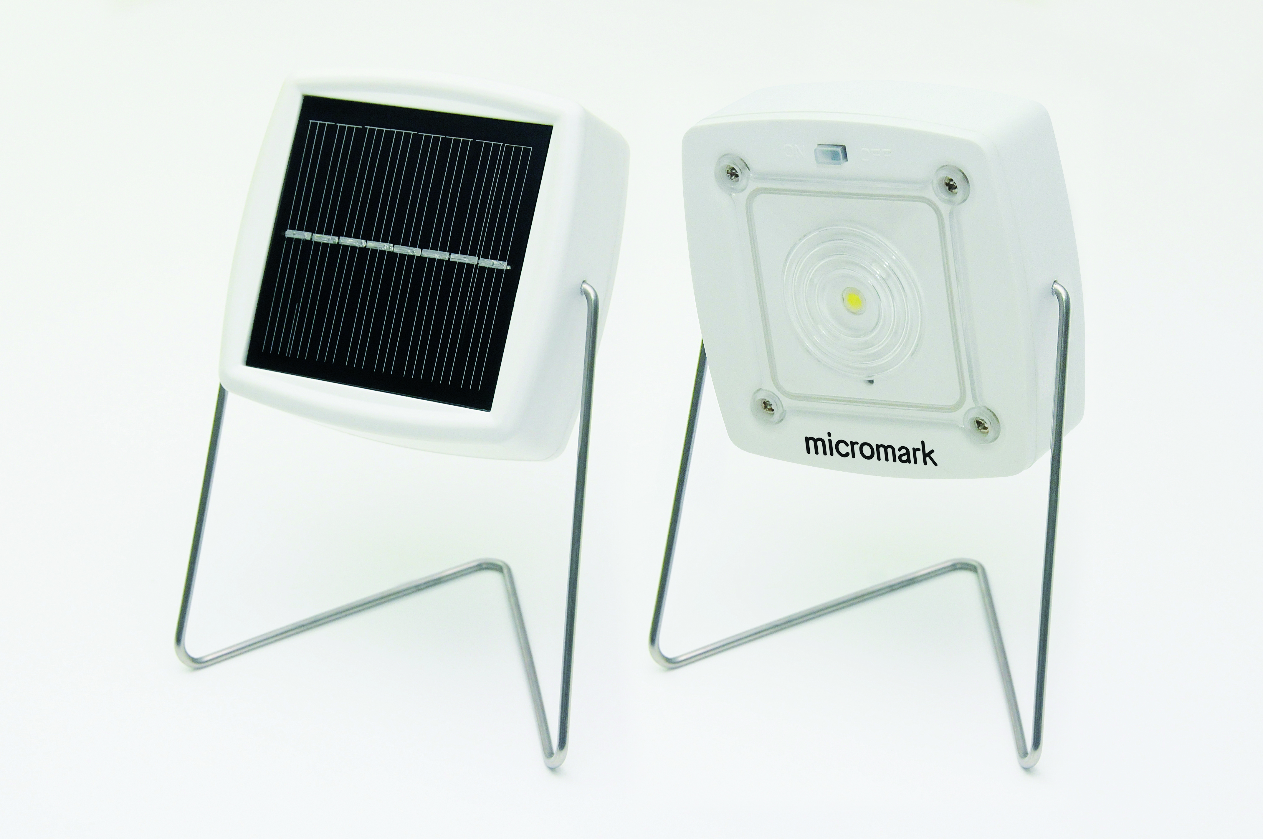 solar back and led light