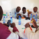 Technicians are trained on how to repair solar lanterns in Kenya © Lighting Africa