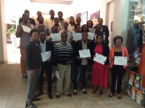 Associate distributor training program, Ethiopia 2015